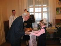 Ніл Гілевіч у Зарэчанскай школе